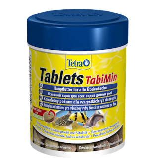 TetraTabiMin 1040 таб. - корм в таблетках для всех видов донных рыб
