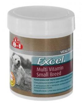 8 in 1 Excel Multi Vit - Small Breed 70 таб. мультивитамины для собак мелких пород (до 4 кг - 0.5 таб., 4-10 кг - 1 таб.)