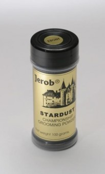 Jerob 100 гр Star Dust Grooming Powder - Dark Red Оттеночная пудра для шерсти животных- Темно Красная