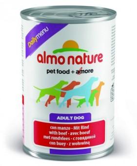 Almo nature 800гр Консервы для собак Меню с говядиной