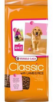 Classic (Versele-Laga) 20кг With lamb & Rice сухой корм для собак с ягненком и рисом