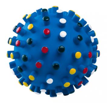 """Beeztees 16328 Игрушка для собак """"Мяч с шипами"""", винил"""