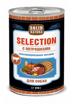 Solid Natura Selection 0,97кг Влажный корм Потрошки