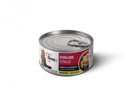 1st Choice 85г Курица с сардиной консервы для стерилизованных кошек