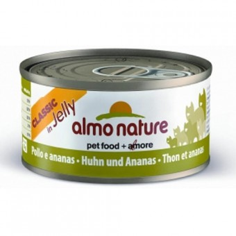 6шт Almo Nature 70гр с курицей и ананасом консервы для кошек Legend Adult Cat Chicken&Pineapple