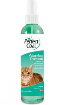 8 in 1 236мл Waterless Shampoo Шампунь для кошек без смывания с ароматом свежести спрей
