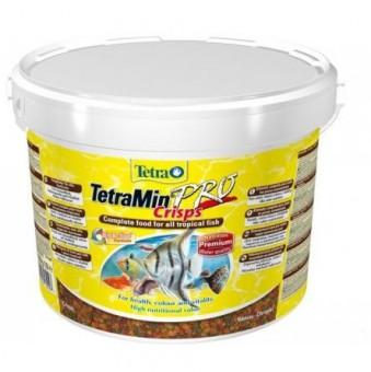 TetraMin XL 10л(ведро)- основной корм для всех видов рыб, крупные хлопья