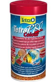 TetraPro Color Crisps корм-чипсы для улучшения окраса всех декоративных рыб 500 мл