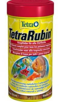 TetraRubin Granulat 250 мл (гранулы) - корм для улучшения окраса всех видов рыб