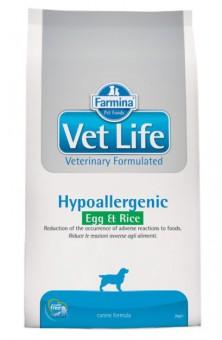 Farmina 12кг Dog Hypo Egg & Rice Диета при пищевой аллергии и непереносимости для собак  Яйцо с Рисом