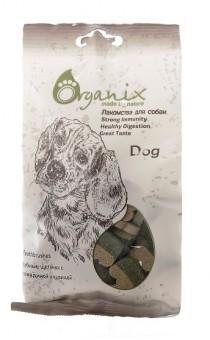 Organix 100г Лакомства для собак Зубные щеточки с говядиной и курицей