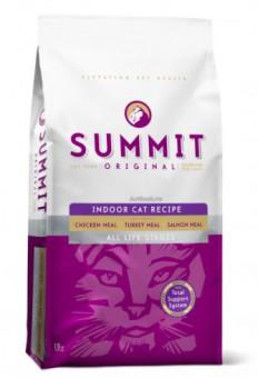 Summit holistic 6,8кг Original 3 Meat, Indoor Cat Recipe Для домашних кошек три вида мяса с цыпленком, лососем и индейкой - все стадии жизни