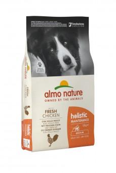 Almo nature 2кг Adult chicken Сухой корм для взрослых собак всех пород курица