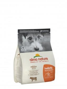 Almo nature 2кг Small Beef  Rice Holistic Для взрослых собак малых пород с говядиной