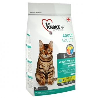 1st Choice 2,72 кг Light - Healthy Weight для стерилизованных кошек контроль веса цыпленок