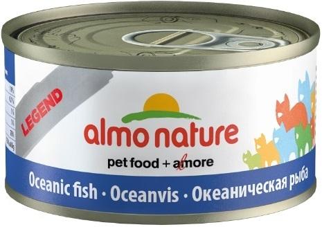 6шт Almo Nature Консервы нежный мусс для кошек Меню с Тунцом и Курицей