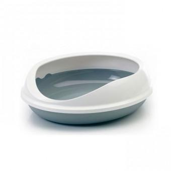 Savic 55*48*15.5см Figaro туалет для кошек серый