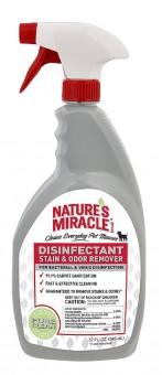 Nature's Miracle 709мл Универсальный уничтожитель пятен и запахов для собак, спрей, NM Dog Stain Odor Remover Spray