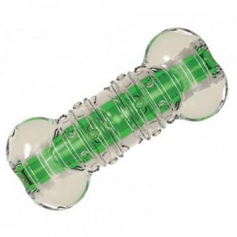 Petstages игрушка для собак Хрустящая косточка резиновая 8 см очень маленькая