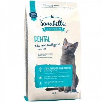 Sanabelle Dental 2 кг для профилактики заболеваний зубной системы и поддержания правильной микрофлоры полости рта