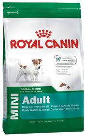 Royal Canin 8кг Mini adult Для поддержания прекрасной физической формы собак мелких размеров
