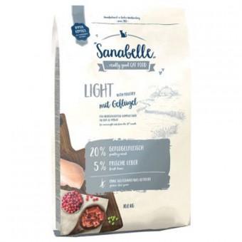 Sanabelle 10кг Light сухой корм для кошек