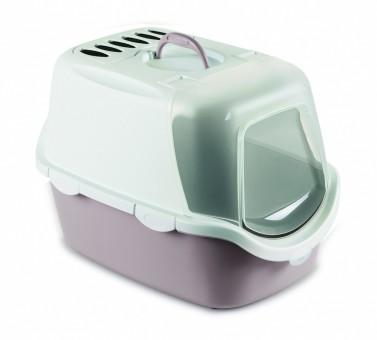 Stefanplast 56*40*40см Туалет-Домик Cathy Easy Clean с угольным фильтром, пудровый,