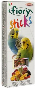 FIORY 2х30 г палочки для средних попугаев Sticks с фруктами
