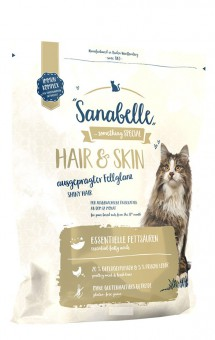 Sanabelle 10кг Hair&Skin сухой корм для кошек