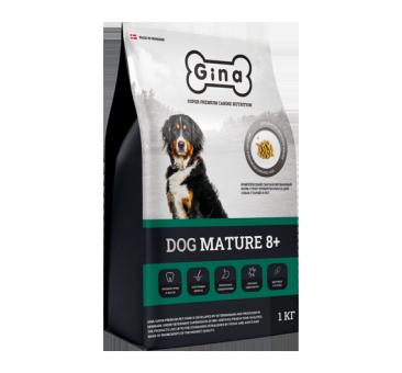 Gina Dog Mature 8+ 3кг Сухой корм для пожилых собак