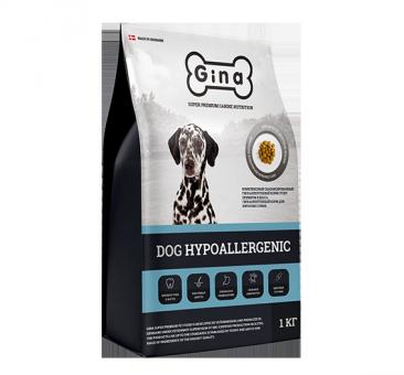 Gina 1 кг  Denmark Hypoallergenic для собак страдающих пищевой аллергией