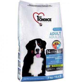 1st Choice 15 кг Adult medium large Сухой корм для взрослых собак средних и крупных пород курица