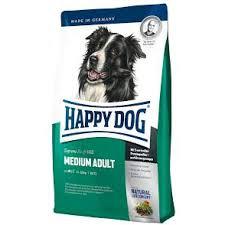 Happy dog 4 кг.Supreme Adult Medium  для взрослых собак средних пород 11-25 кг,