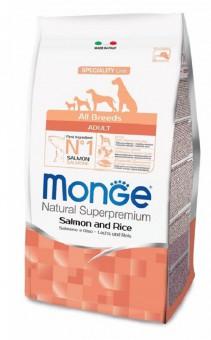Monge Dog 0,8 кг Speciality Mini корм для взрослых собак мелких  пород лосось с рисом