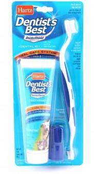 Hartz Набор для ухода за зубами собак и кошек  Total Oral Care Dental Kit For Dogs & Cats