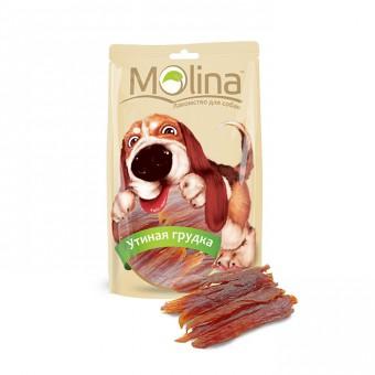 Molina лакомства 80гр.Утиная грудка для собак