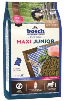 Bosch 15кг Junior maxi Сухой корм для щенков крупных пород и щенков с массивным костяком