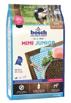 Bosch 3 кг Junior mini Сухой корм для щенков мелких пород