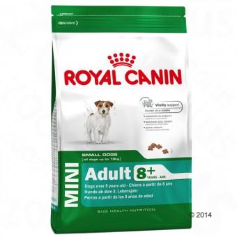 Royal Canin 4кг Mini Adult +8 Для собак мелких размеров (вес взрослой собаки менее 10 кг.) в возрасте с 8 до 12 лет