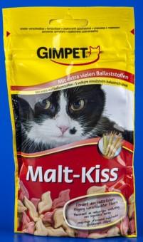 Gimpet 40г Malt-Kiss Витамины д/кошек для вывода шерсти из желудка