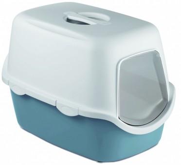 Stefanplast Туалет 56*40*40см закрытый Cathy, синий,