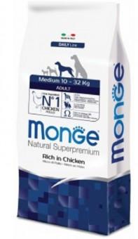 Monge Dog 12 кг Medium корм для взрослых собак средних пород