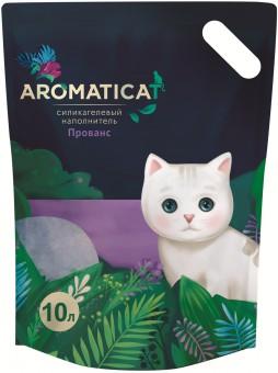Aromaticat 10л Силикагелевый гигиенический наполнитель Прованс