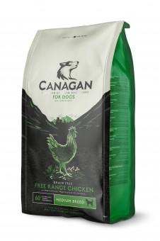 Canagan 2 кг Dog Grain Free, Free Range Chicken беззерновой сухой корм для взрослых собак  и щенков всех пород Цыпленок