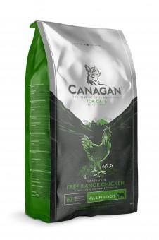 Canagan 1,5 кг Cat Grain Free, Free Range Chicken беззерновой сухой корм для кошек и котят Цыпленок