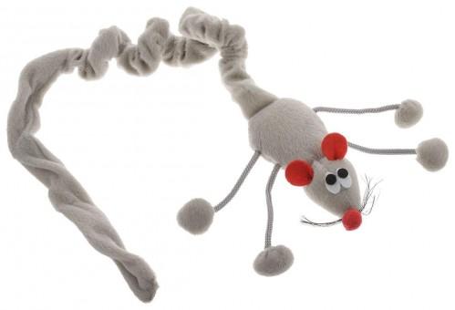 Beeztees 52см Игрушка для кошек Дразнилка-мышь подвесная