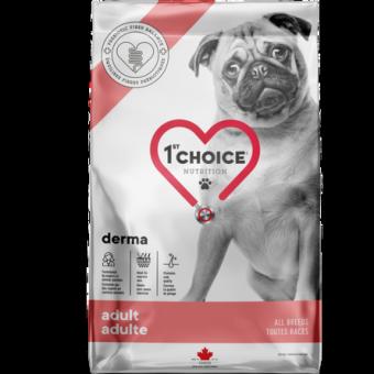 1st CHOICE GF DERMA 12кг Сухой корм для взрослых собак с гиперчувствительной кожей с лососем
