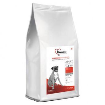 1st Choice 20 кг Adult sensitive Сухой корм для взрослых собак всех пород с чувствительной кожей и для шерсти ягненок рыба рис
