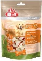 8in1 Delights XS 7,5см 21 шт  косточки в для собак мелких пород