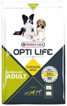 Opti Life 1кг Adult Skin Care Medium & Maxi Для собак с чувствительной кожей с лососем и рисом